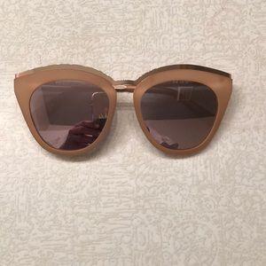 Le Specs cat eye sunglasses.